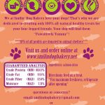 Slammin' Salmon - 4oz all natural & grain free dog treats - 100% Dehydrated Salmon Skins | Smilin' Dog Bakery, LLC.