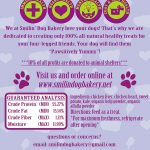 Leapin' Livers - 4oz all natural & grain free dog treats - Dehydrated chicken liver, heart, sweet potato & kale treat   Smilin' Dog Bakery, LLC.