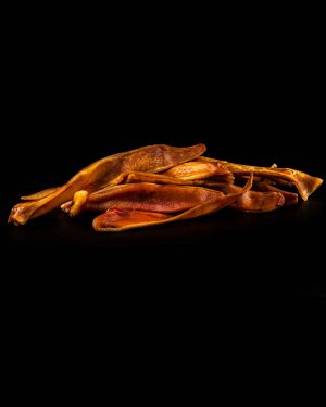 piggles sliced pig ears - dog chew | Smilin' Dog Bakery, LLC.